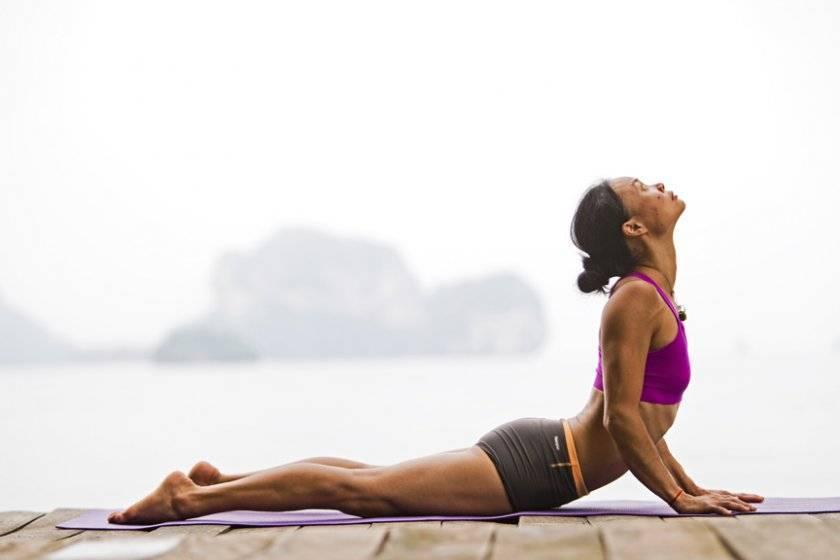 Укрепление и оздоровление позвоночника для всех: поза змеи в йоге или сарпасана