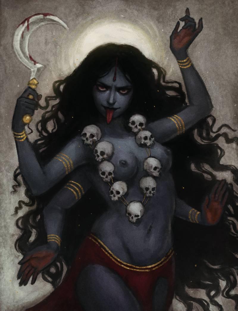 Великая и ужасная – богиня Кали и ее неоднозначный символизм