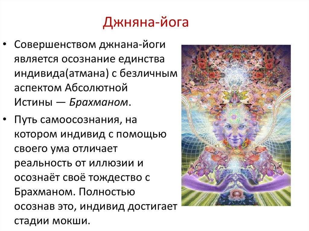Йога обретения духовного знания или Джняна-йога и ее подробное описание
