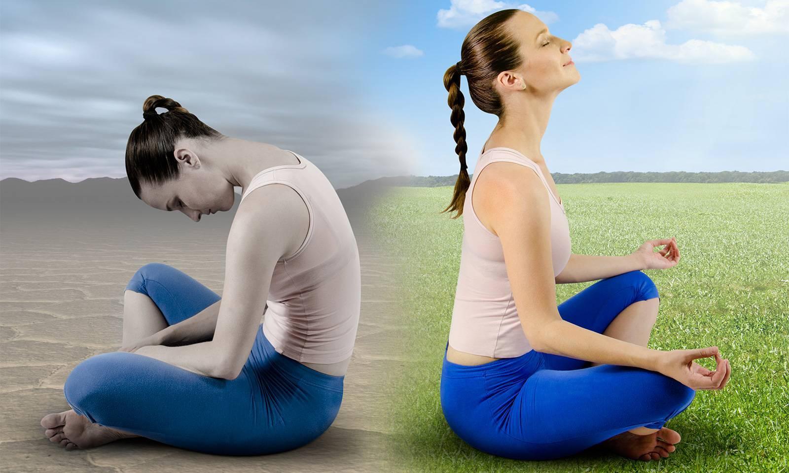 Синхронное дыхание йоги в практике асан
