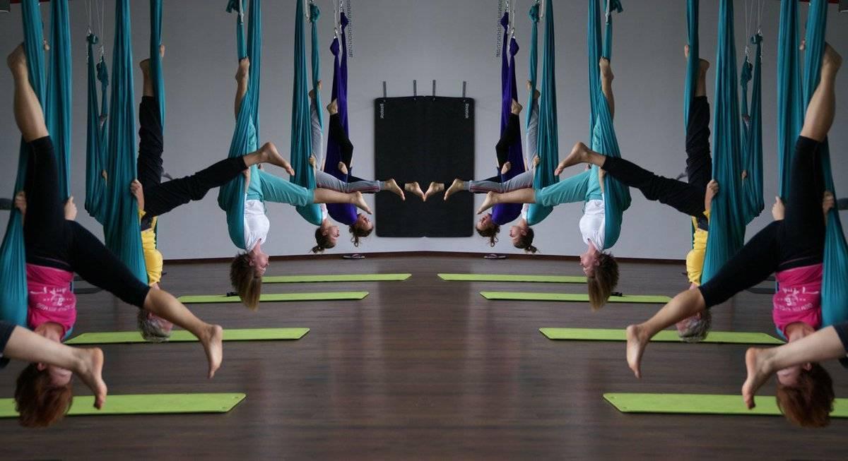 Польза и вред аэройоги (антигравити). опасна ли воздушная йога