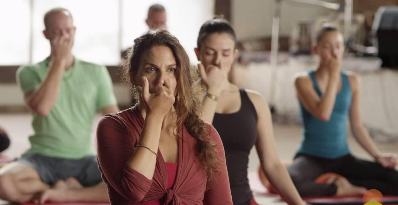 Пранаяма для начинающих. видео-урок