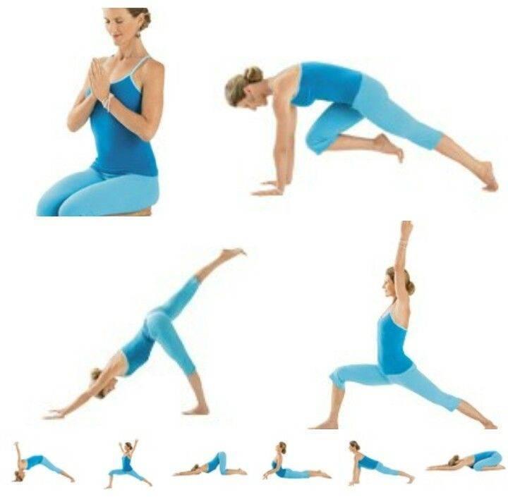 11 утренних поз йоги для зарядки