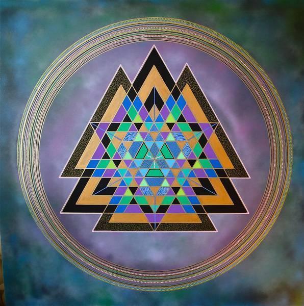 Шри-янтра - янтра вселенной