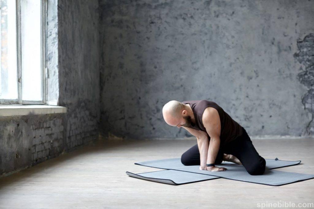 Поза павлина в йоге или маюрасана для начинающих