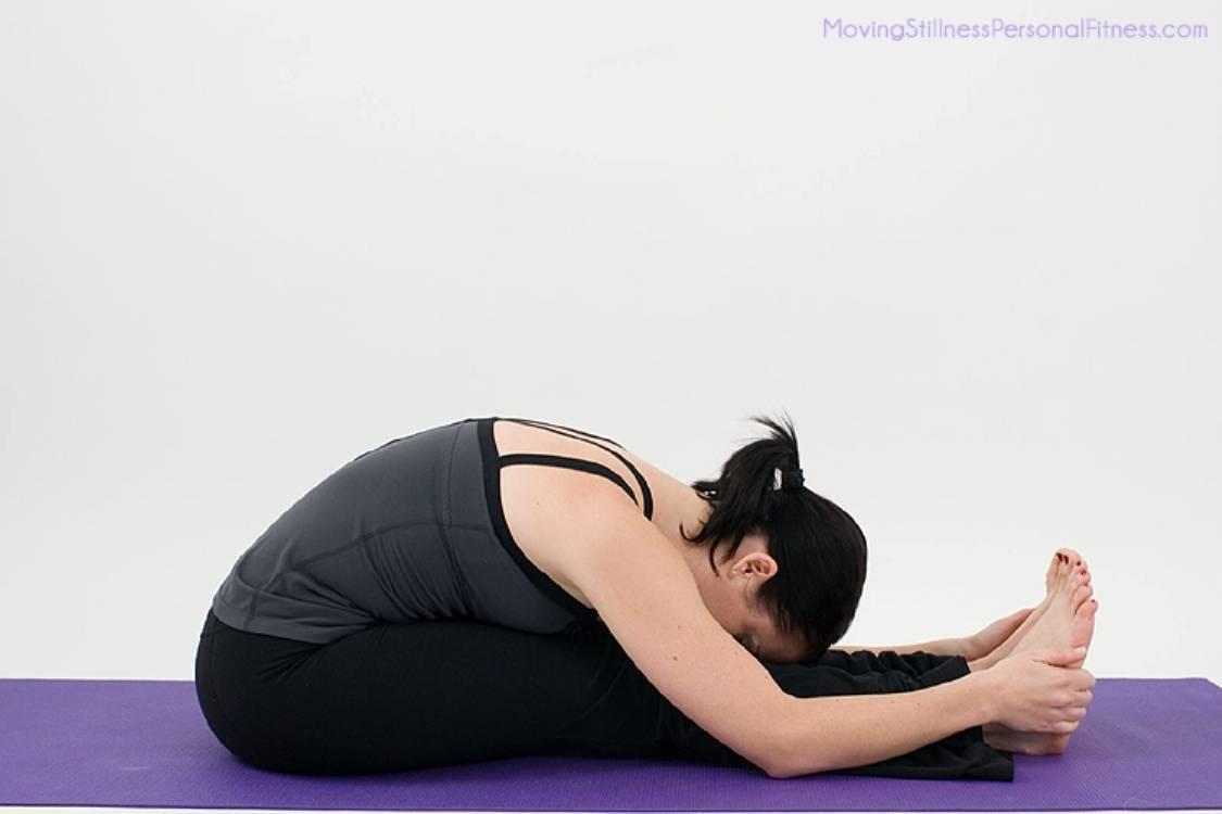Пашчимоттанасана в йоге
