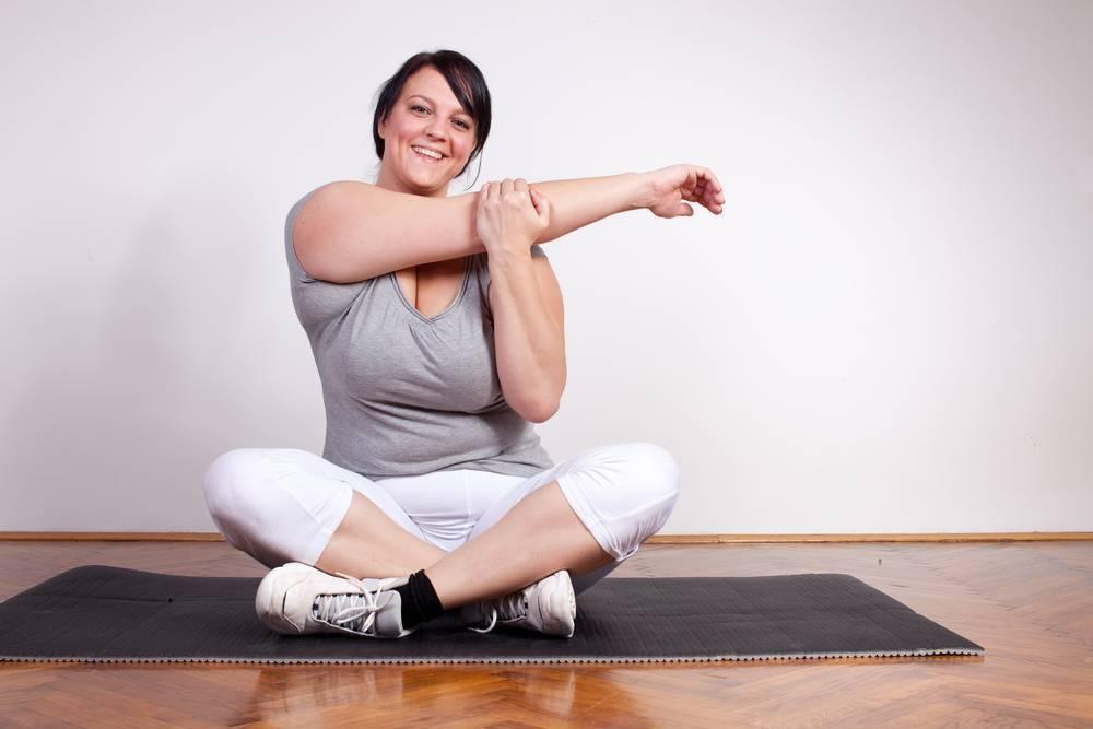 Йога для полных начинающих женщин для быстрого похудения