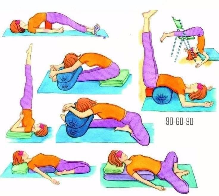 Йога от стресса: комплекс йоги на 20 минут, фото и видео