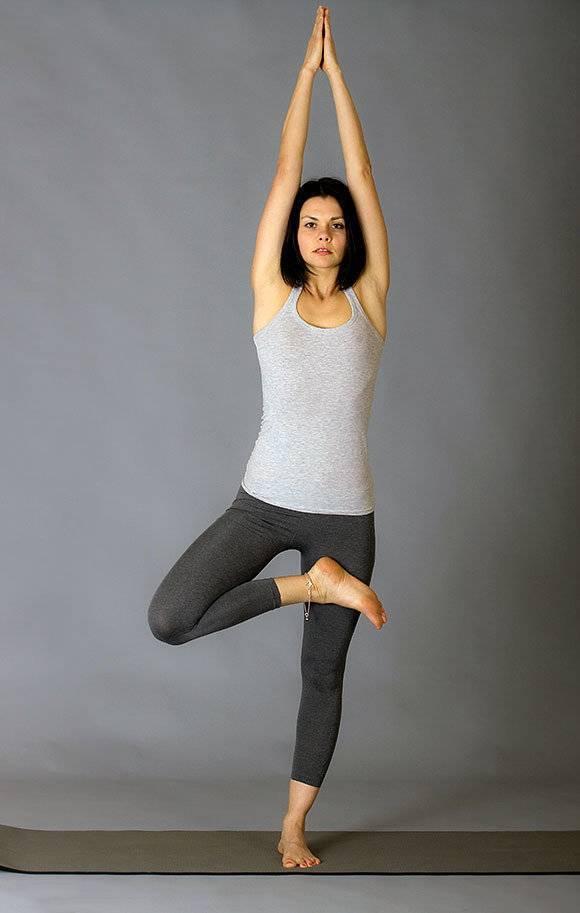 Йога анти-стресс: 5 поз для расслабления