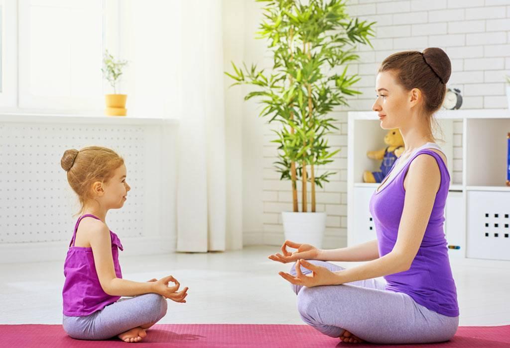 Польза йоги для детей, комплексы упражнений детской йоги для новичков и продвинутых