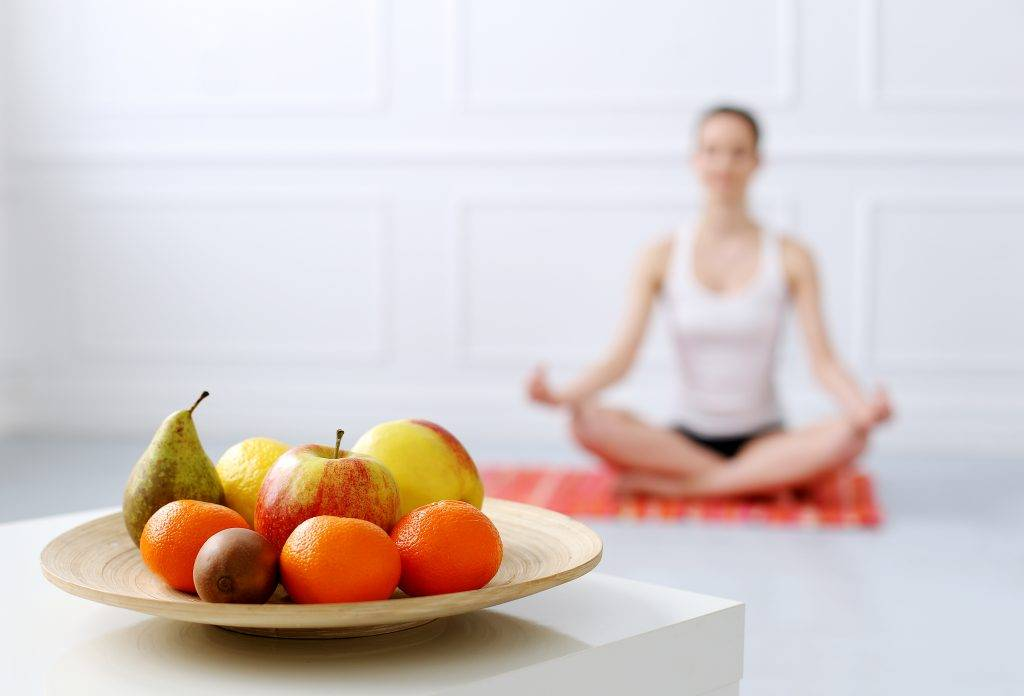 Правильное питание йогов: правильный рацион для начинающих, принципы
