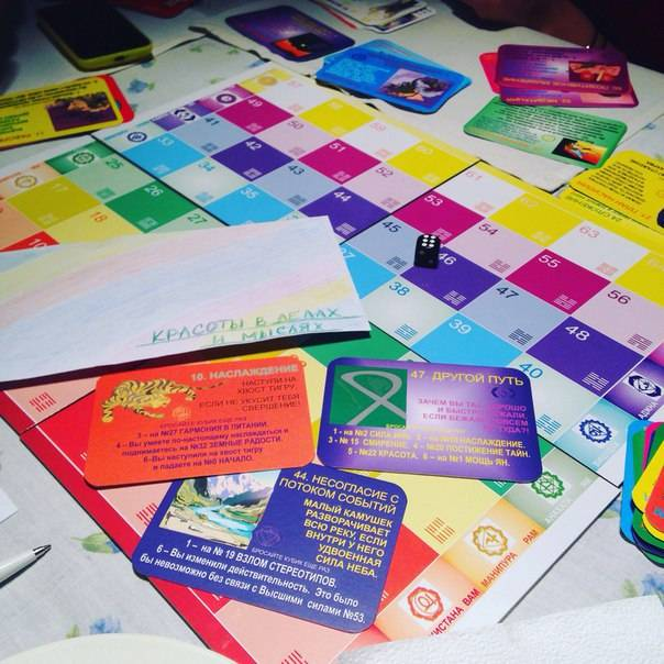 Игра лила — древнейшая игра самопознания