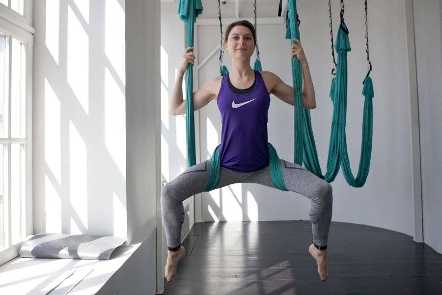 Йога в гамаках и ее польза
