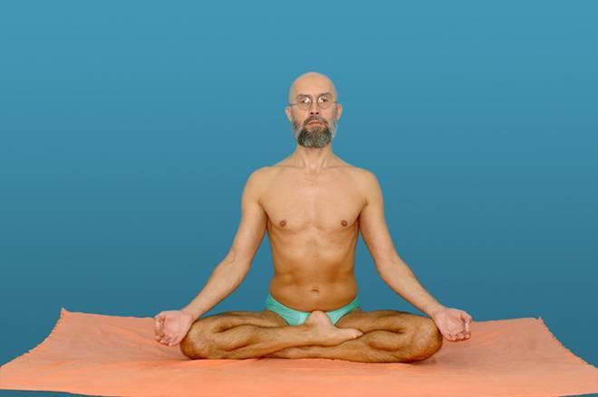 Поза лотоса как сесть правильно - yoga for me