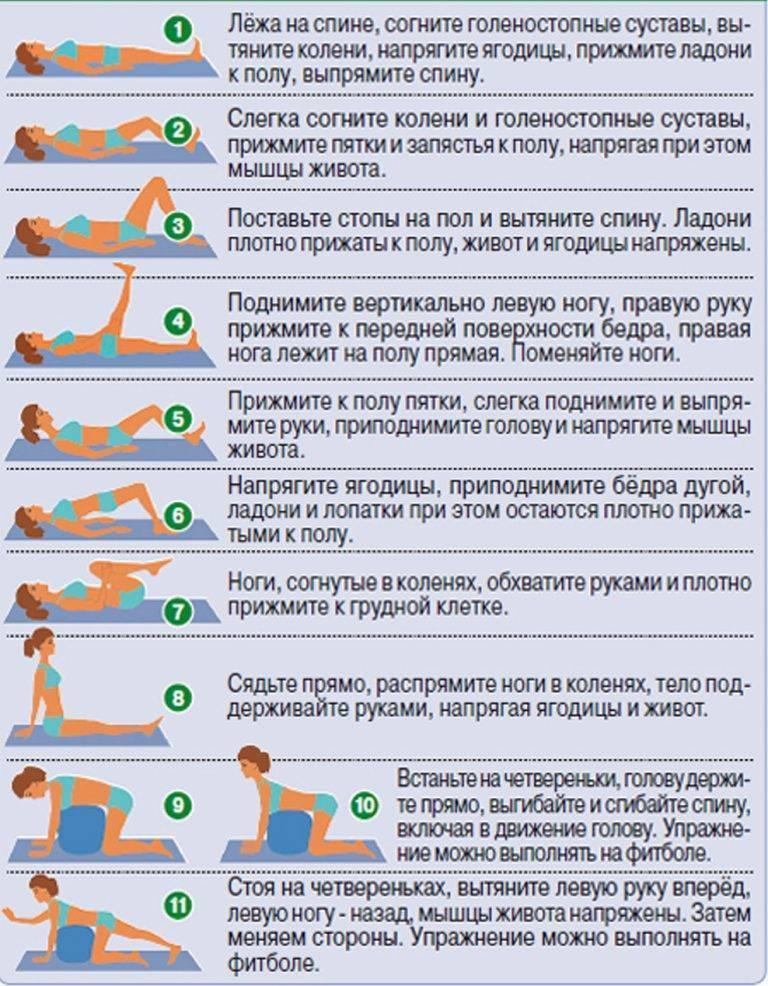Лфк при грудном остеохондрозе: основные упражнения