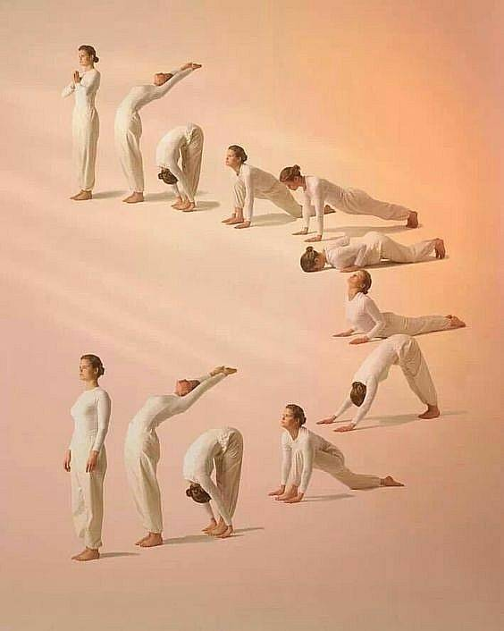 Сурья намаскар: комплекс утренних упражнений — психология pro