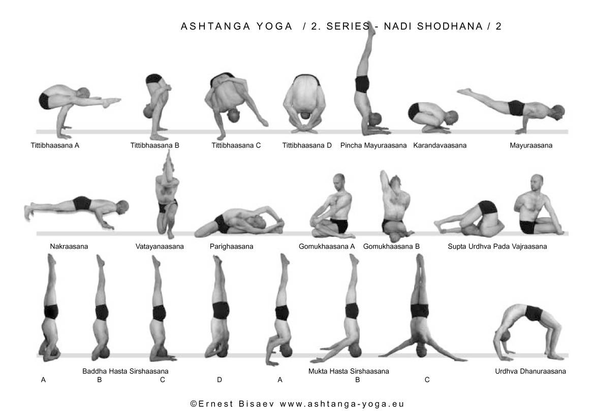 Основы йоги айенгара - чудо симметрии