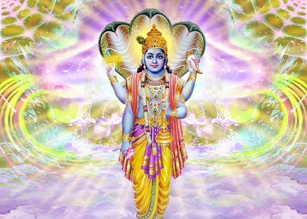 Вишну - самый многоликий бог индии