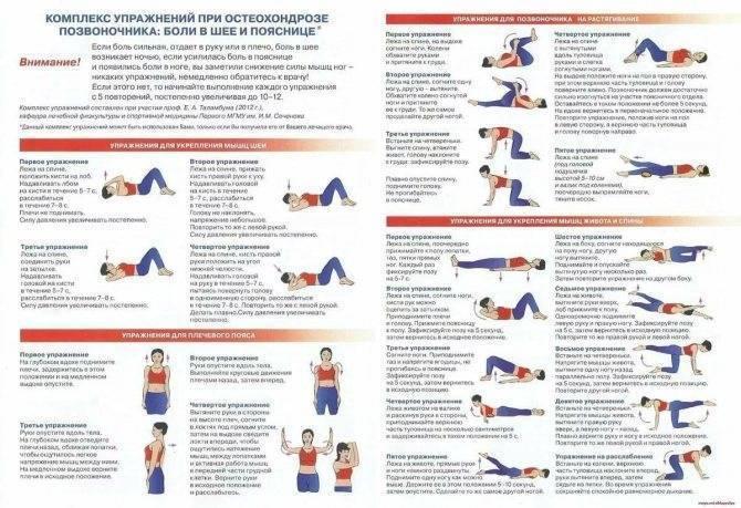 Шейный остеохондроз: симптомы и лечение