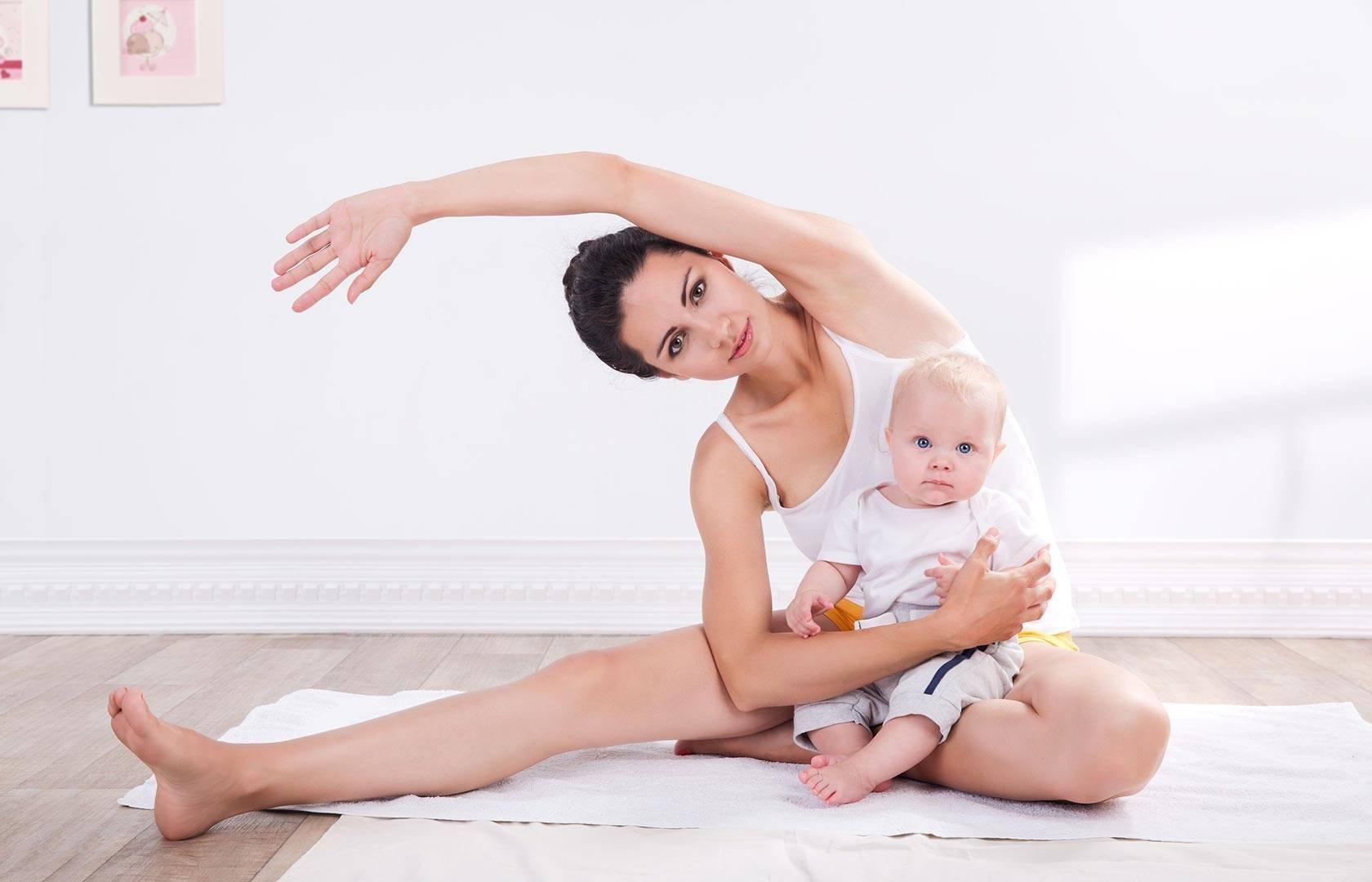 Восстановительная йога после родов