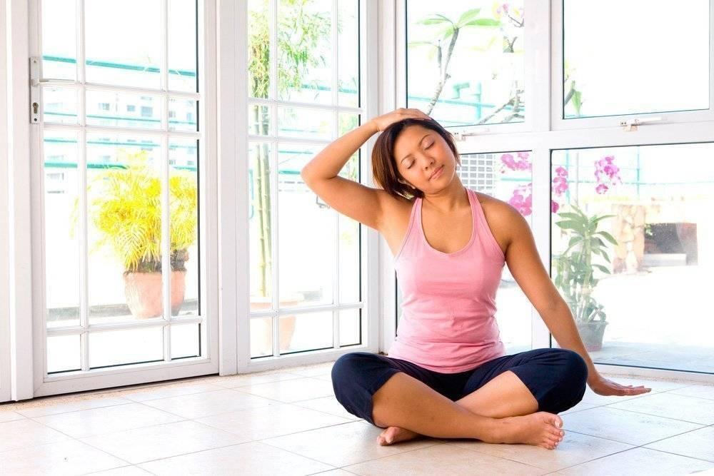 Йога для успокоения, расслабления, снятия усталости и стресса