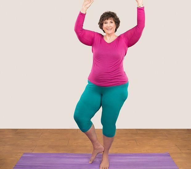 12 упражнений йоги для похудения живота и боков