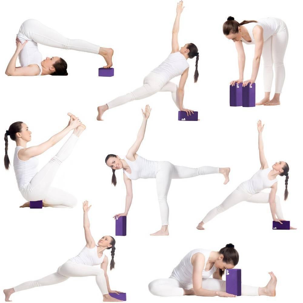 Как использовать блок для йоги?