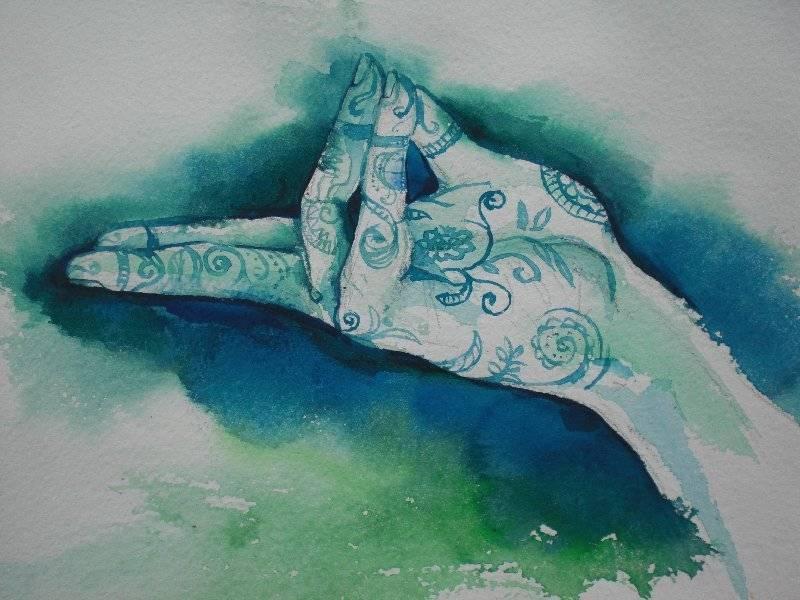 Мудра знания и другие 7 положений рук при медитации