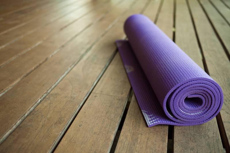 Полезные советы в выборе или изготовлении коврика для йоги
