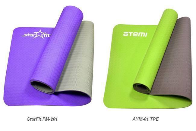 Как правильно выбрать коврик для йоги и фитнеса