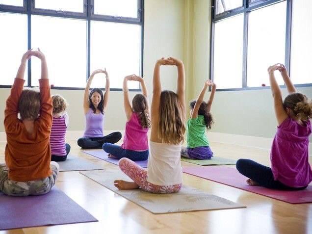 Йога для малышей . йога с детьми фото