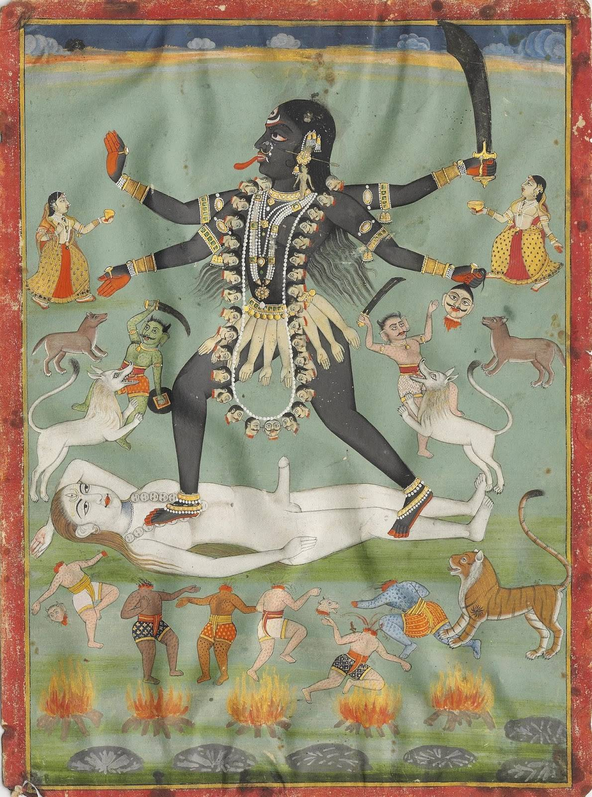 Богиня кали - освобождение от страха смерти, кармы, чистое знание, равновесие