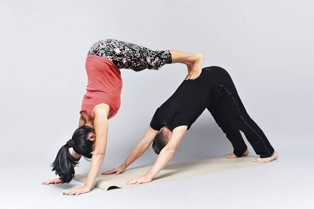 Йога вдвоем: позы йоги в парах