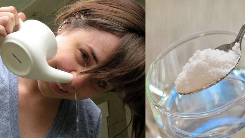 Промывание носа. за и против