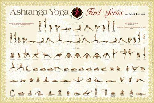 Серии аштанга йоги