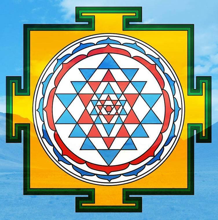 """Лечебная медитация """"шри - янтра"""", сайта """"здоровье человечества"""""""