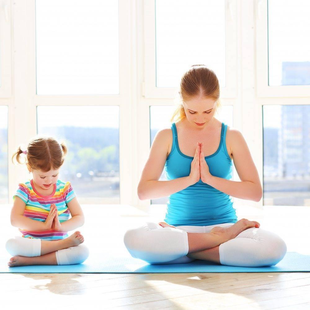 Йога для детей: детские позы и советы для родителей перед началом занятий
