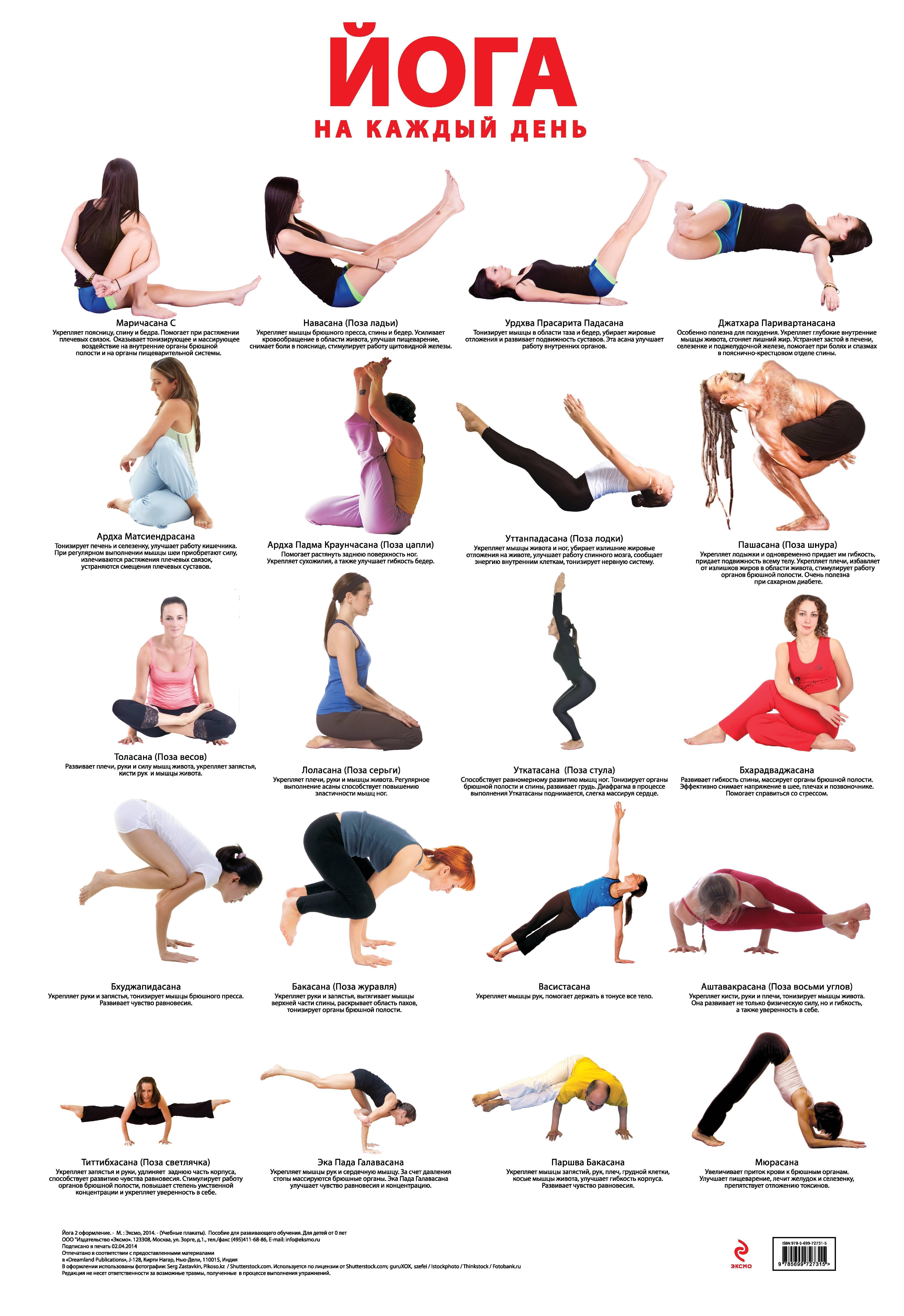 Йога для похудения для начинающих в домашних условиях: упражнения и видео