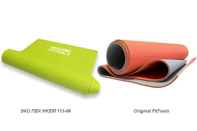 Как выбрать коврик для занятий фитнесом?