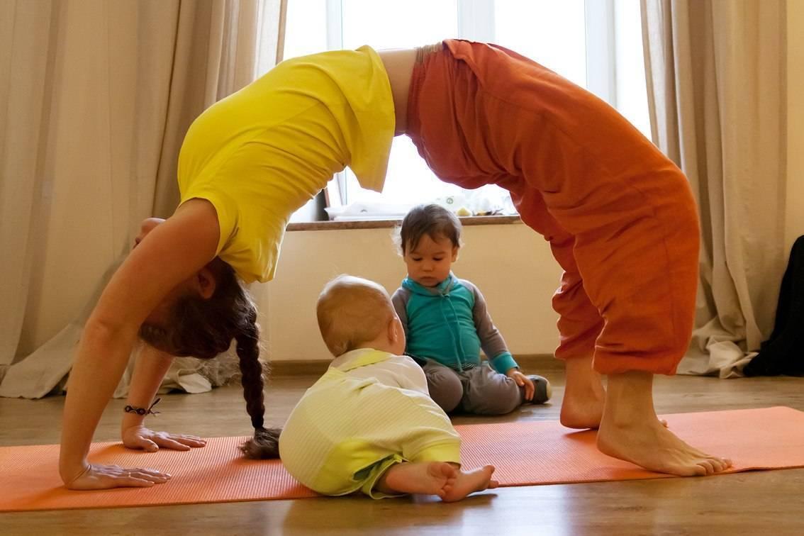 Йога в развлекательной форме для детей в виде челленджа
