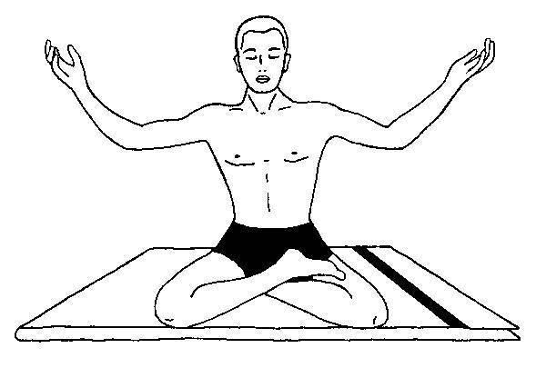 Ваджроли-мудра (удар молнии). асана, пранаяма, мудра, бандха