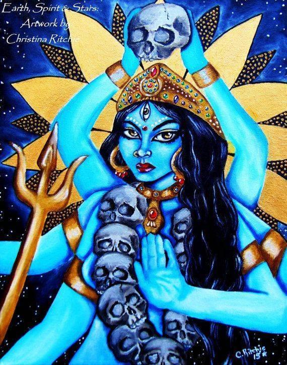 Как произносить величественную мантру богини кали, в чем секрет ее силы? (5 фото + 3 видео)