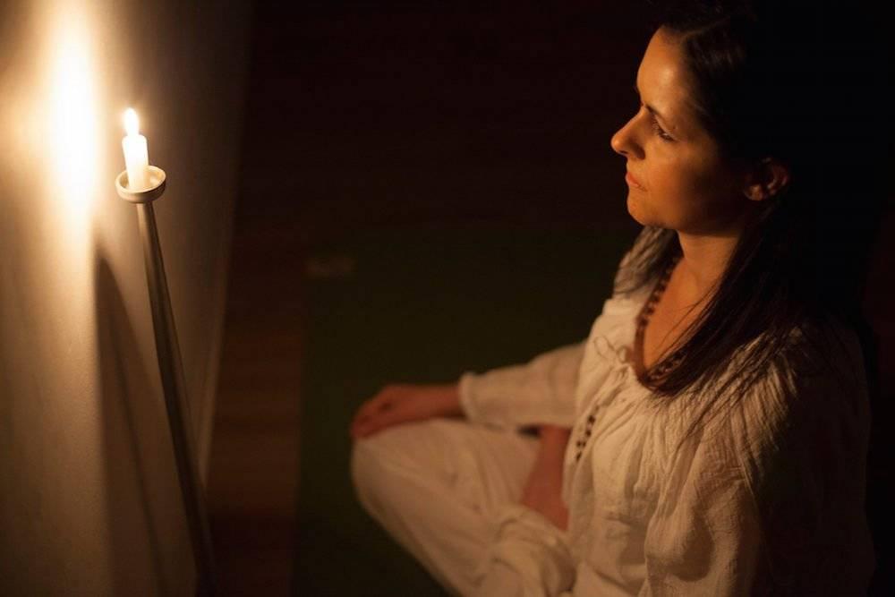Тратака - восстановление зрения: медитация на свечу