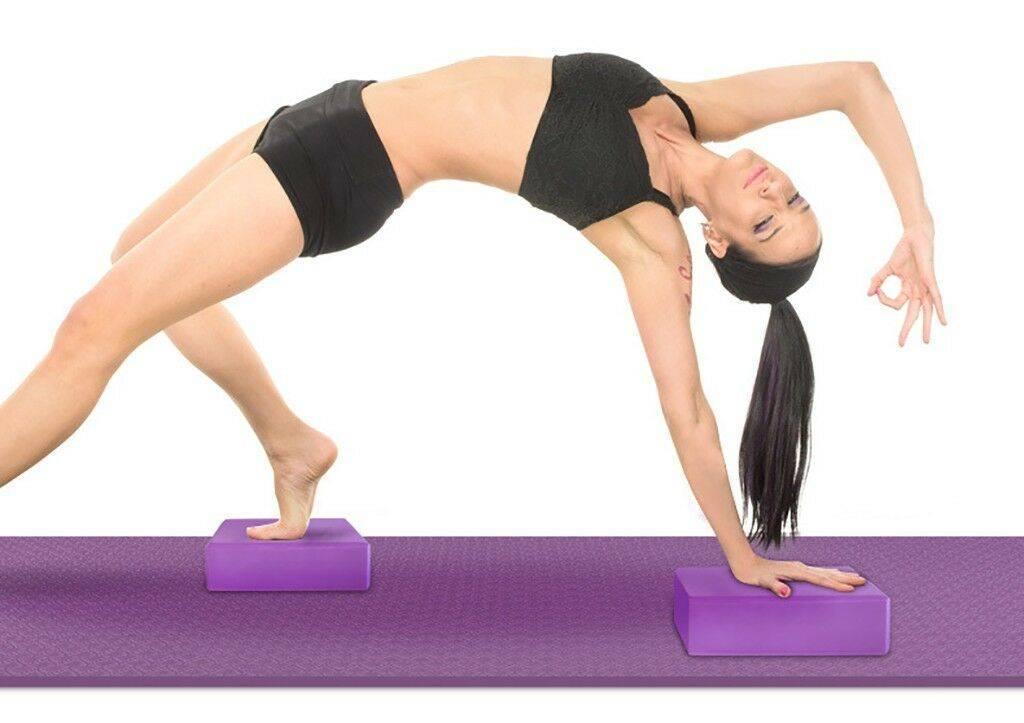Упражнения йоги с кирпичиками. как использовать блок для йоги: советы для начинающих. универсальный блок для йоги