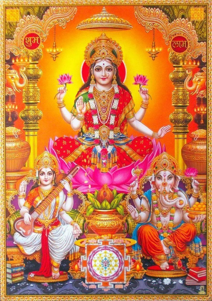 Мантра богине лакшми для богатства и процветания