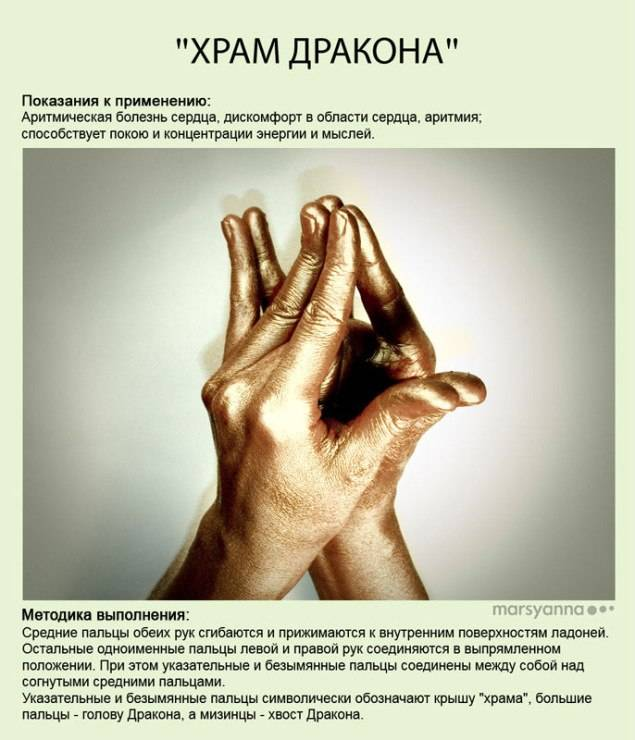 Притхиви-мудра (увеличение силы)