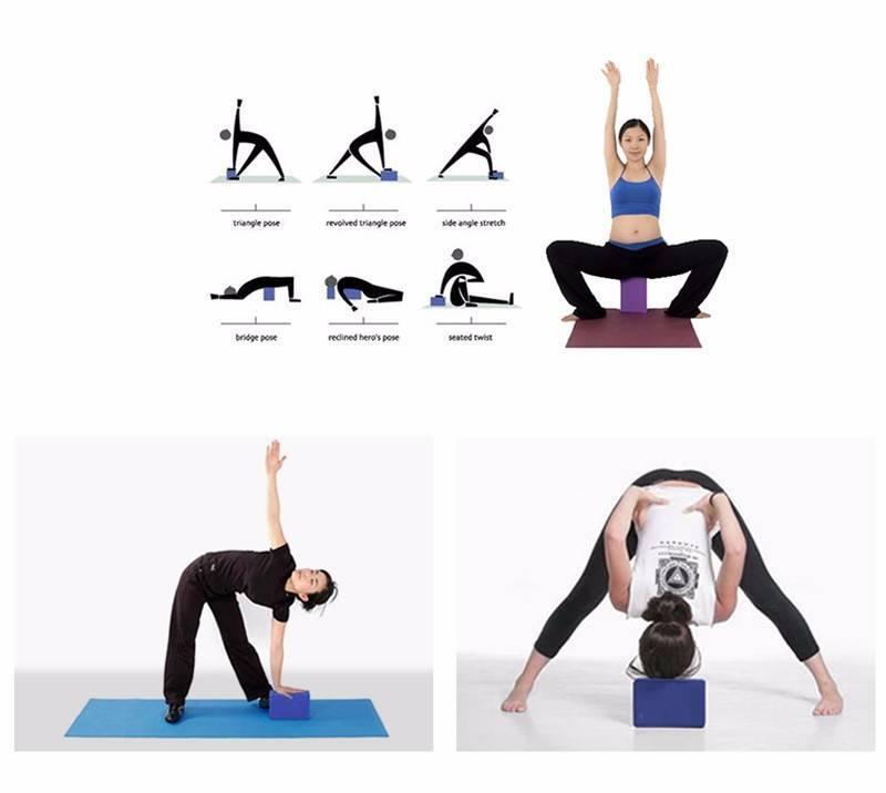 Кирпичи для йоги позвоночник