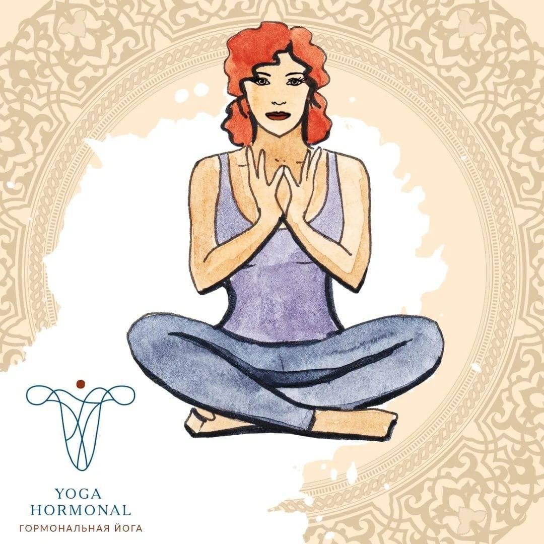 Йога для стимуляции гормонов яичников