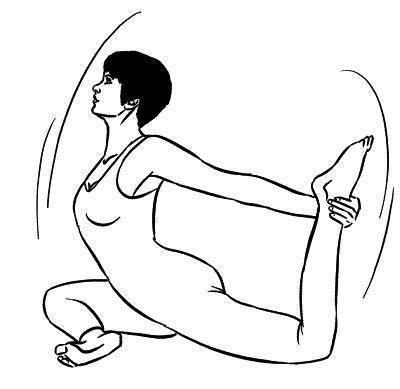 Эка-пада-раджакапотасана — поза королевского голубя на одной ноге. анатомия йоги