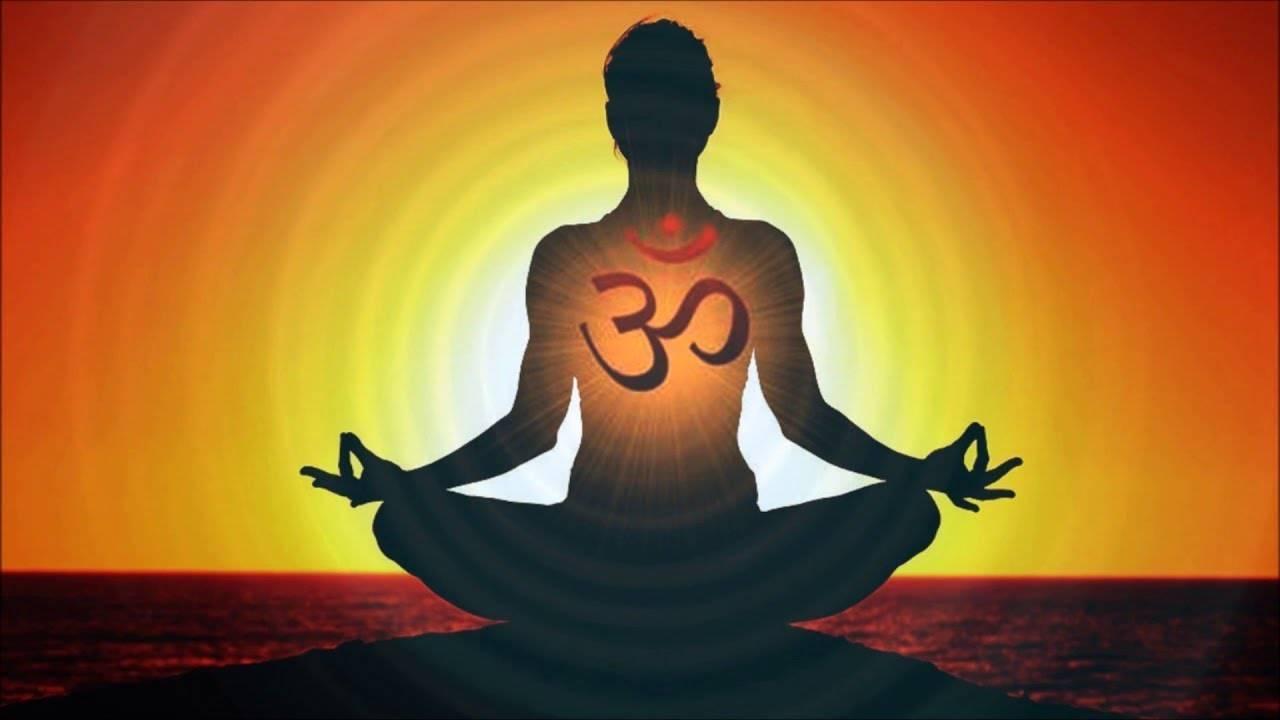 Медитация на звук мантры ом (аум) в йоге